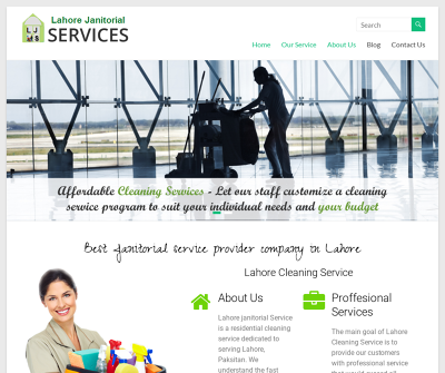 Lahore janitorial service provider