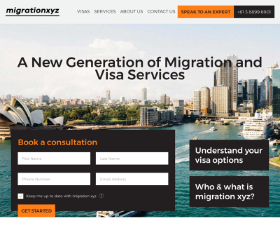 Migration XYZ Detailed Assessment, Advise, Recommendations, Personalized Assessment