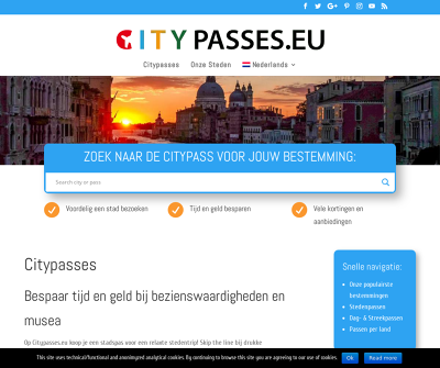 Citypasses - Discounted Access to Museums and Attractions