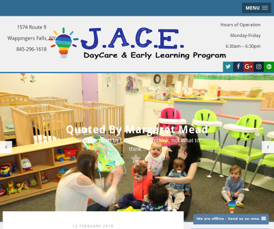 J.A.C.E. Daycare and Early Learning Program Wappingers Fallls, New York Infants