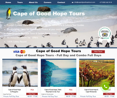 Cape of Good Hope Tours Cape Town South Africa Cape of Good Hope & Penguins