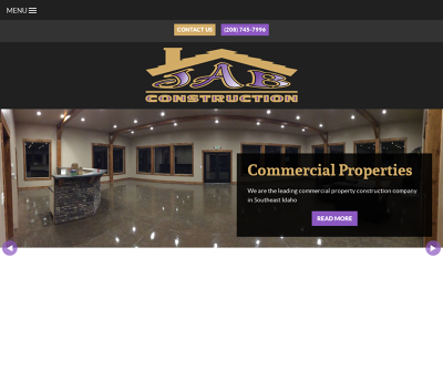 JAB Construction Rigby, ID Residential Commercial Subdivisions Business Parks