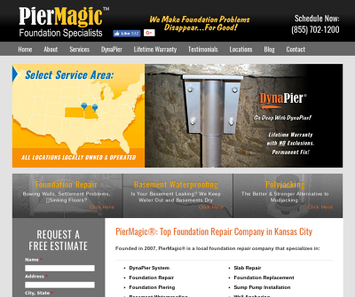 PierMagic Foundation Specialists Foundation Repair Slab Repair Bowed Wall Repair
