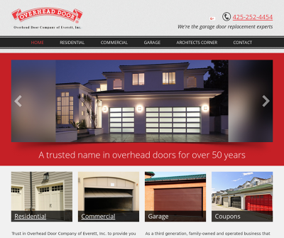 Overhead Door Company Everett,WA Door Opener Tune-Ups Carriage House Door Installs