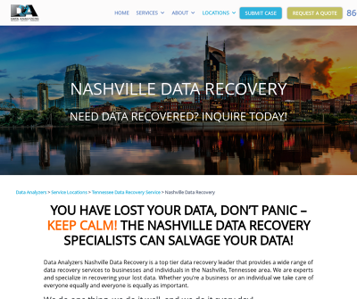 Data Analyzers Nashville, TN Consumer Small Business Digital Forensics Specialized