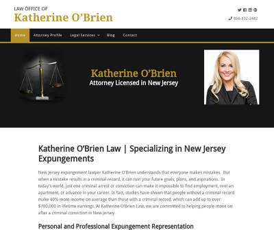 Law Office of Katherine O'Brien Sewell,NJ Expungements Mental Health Expungements