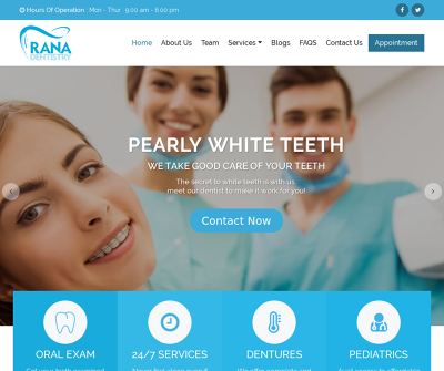 Rana Dentistry Redlands, CA Emergency Dentistry General Dentistry High Tech Equipment