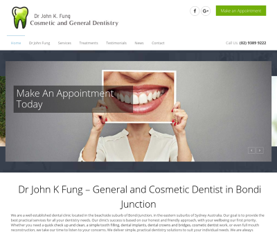 Dr John K. Fung Cosmetic & General Dentistry Implant Dentistry Dental Cowns Veneers