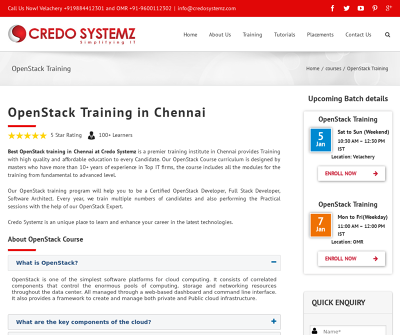 Best OpenStack Training in Chennai