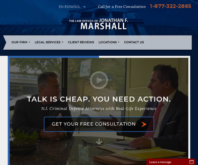 The Law Offices of Jonathan F. Marshall Paramus,NJ Criminal Process Drug Crimes