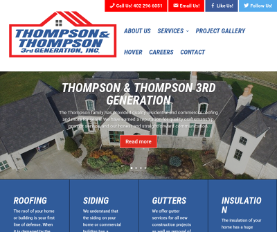 Thompson & Thompson 3rd Generation Roofing