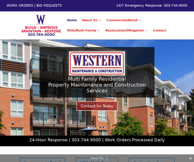 Western Maintenance and Construction