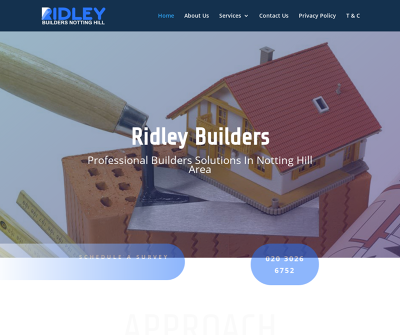 Experts For All Kinds Of Building Services in Notting Hill by Ridley Builders