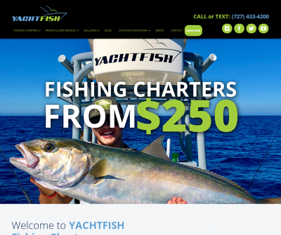 YACHTFISH Fishing Charters St. Petersburg, FL Clearwater Fishing Charter
