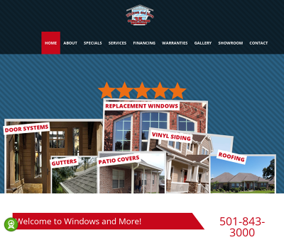 Windows And More, LLC Cabot, AR Replacement Windows, Vinyl, Sliding, Patio Covers