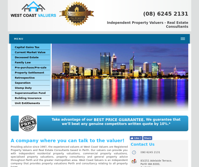 West Coast Valuers Perth, Australia Retail Industrial Commercial Residential Land Acquisition