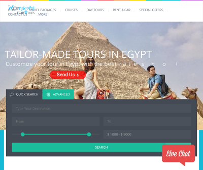 Wonderful Egypt Tours Cruises Transfers Tours