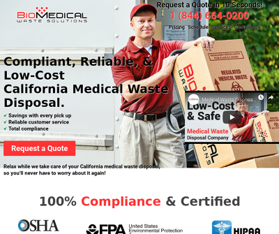 California Medical Waste Disposal