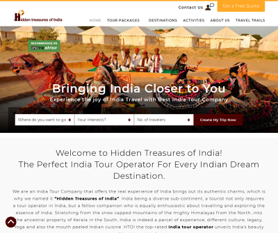 India Tour Operator - HTOI is Top India Tour Company
