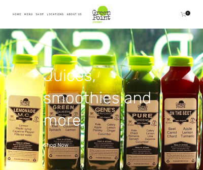 Green Point Juicery: Organic Juice Bar