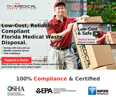 Florida Medical Waste Disposal