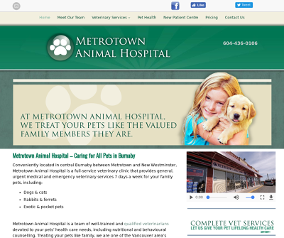 Metrotown Animal Hospital - Veterinary Clinic in Burnaby