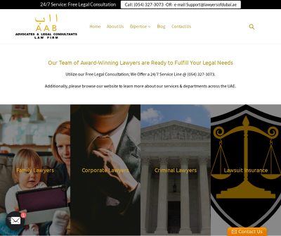 Award-Winning Criminal lawyer, Family lawyer and SMB lawyer in Dubai and other Emirates