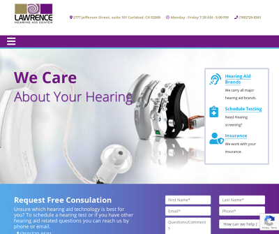 Lawrence Hearing Aid Center