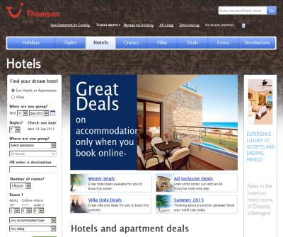 Great hotel and apartment deals