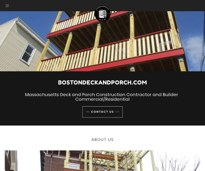 Boston Deck and Porch Construction Contractor
