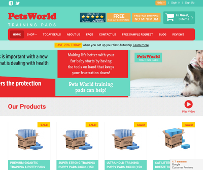 PetsWorld Inc