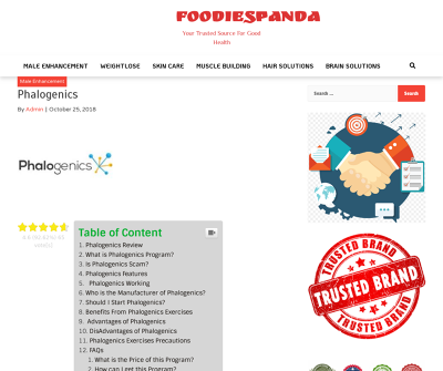 Phalogenics There are numerous regular