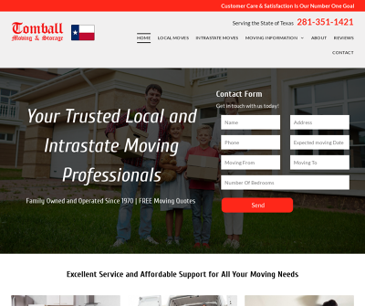 Tomball Moving & Storage Inc