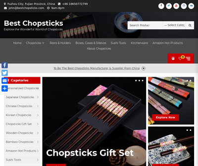 China Chopsticks Manufacturer