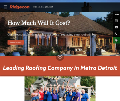 Ridgecon Construction, Inc. Roofing, Siding and Gutter Contractor