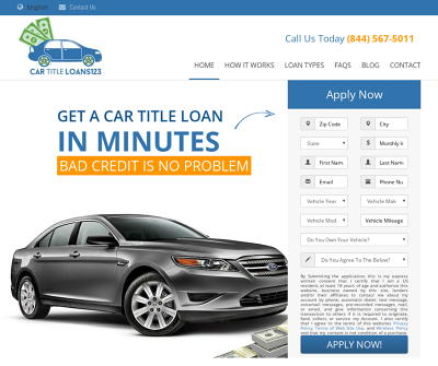 Get Fast Cash Today With Car Title Loans 123