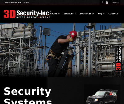 3D Security, Inc. - East Texas Security System Installers