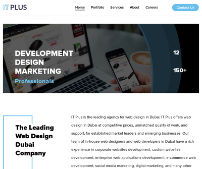 Web Design & Mobile App Development in Dubai - IT Plus