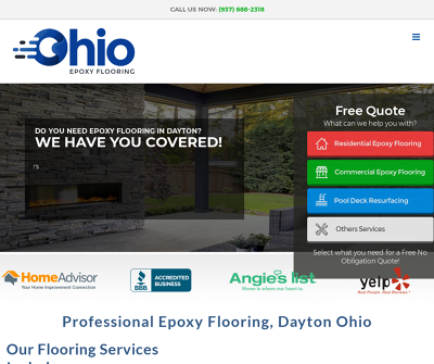 Ohio Epoxy Flooring