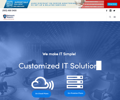IT Support & Solutions in Brampton, Mississauga, Toronto &  GTA