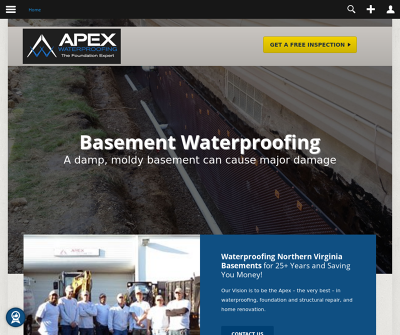 Apex Waterproofing Inc.