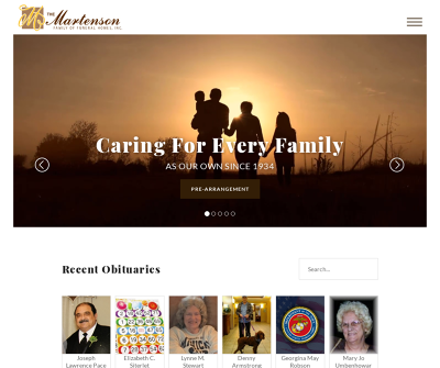 The Martenson Family of Funeral Homes, Inc.