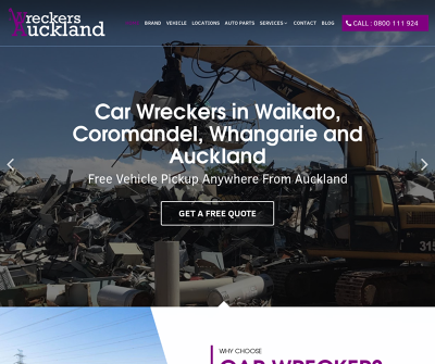 Wreckers Auckland