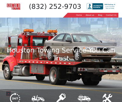 Golden Towing Houston TX Professional Tow And Roadside Assistance