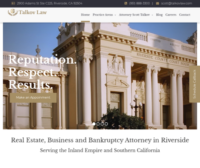 Bankruptcy Attorney Riverside