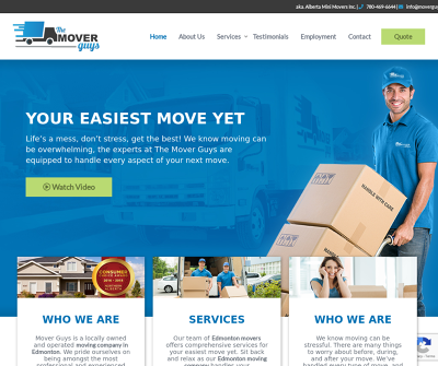 Professional Edmonton Movers | The Mover Guys