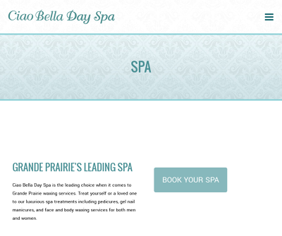 Grande Prairie Waxing Services | Ciao Bella Day Spa