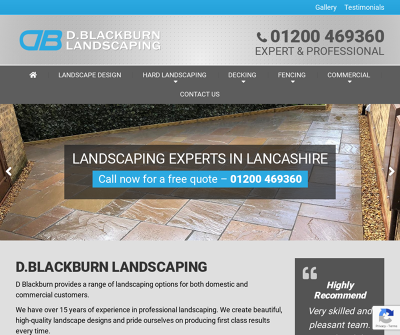 D Blackburn Landscaping