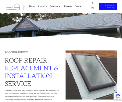 Roofing Contractors in Cape Cod - Dream Home Improvement