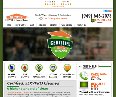 SERVPRO of Newport Beach
